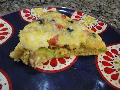Tortilla-Lined Baked Frittata