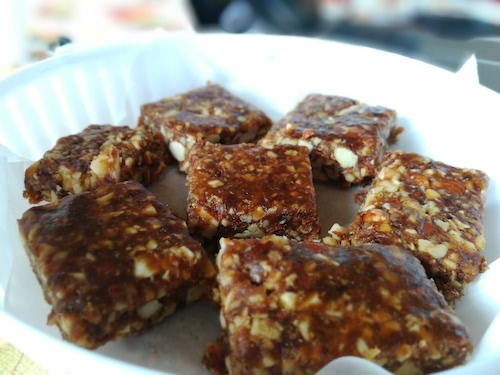 Dates, Almonds and Walnuts Energy Bar