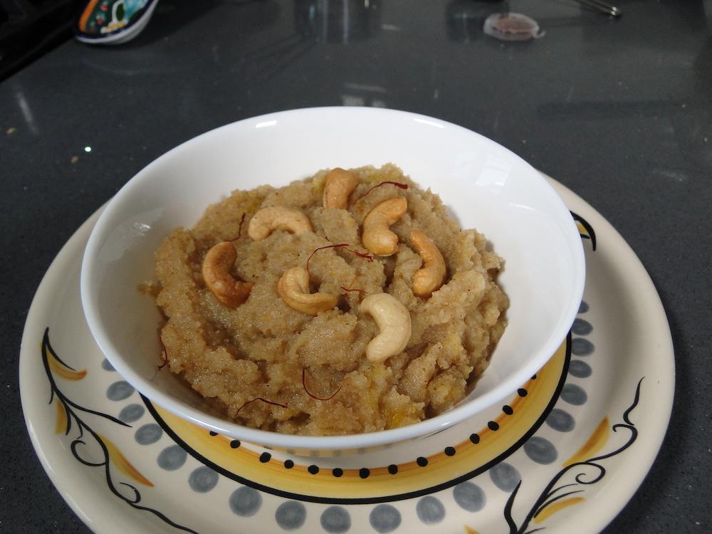 Suji Halva – A Semolina Dessert